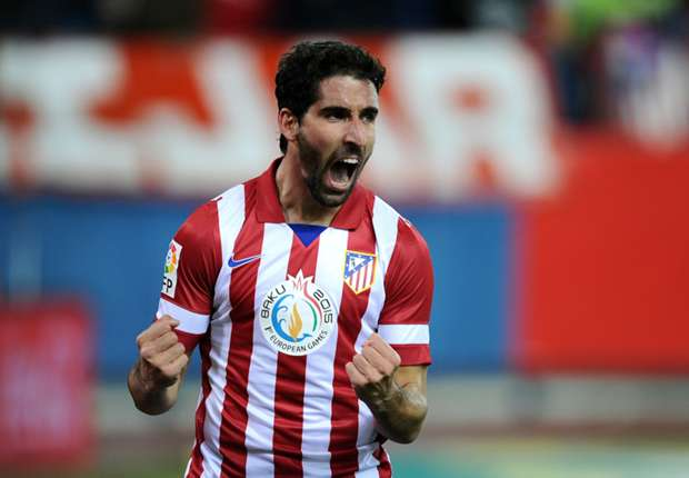 Raul Garcia pens new Atletico Madrid contract