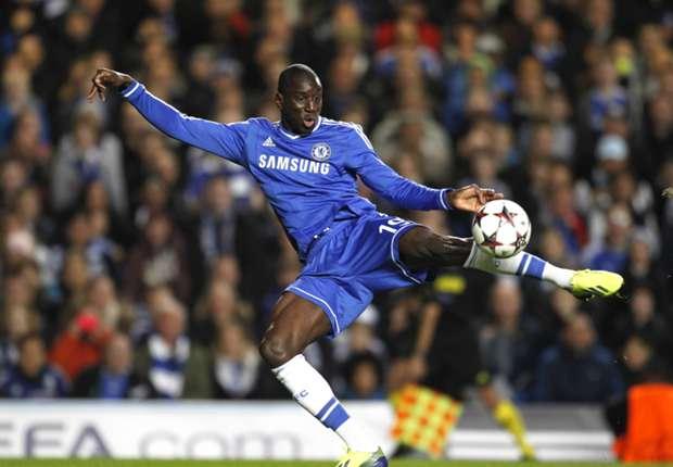 Chelsea striker Demba Ba
