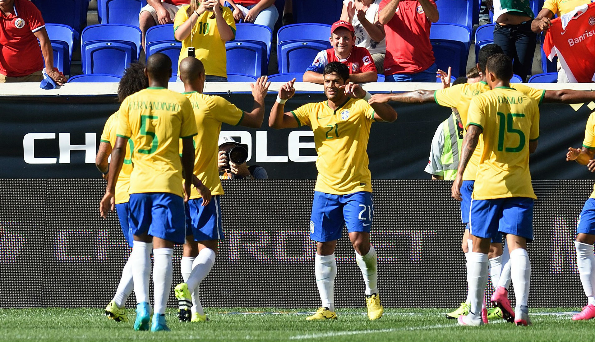 Video: Brazil vs Costa Rica