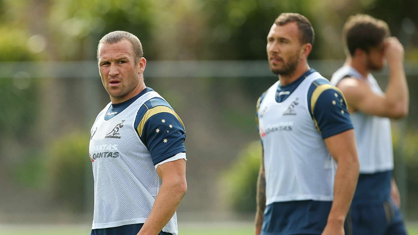 Australia keep faith with Reds halves, Giteau to support