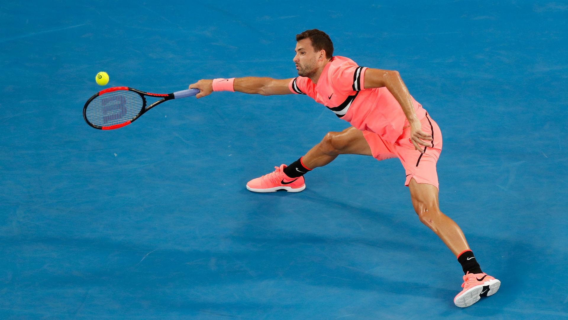Australian Open: Relieved Grigor Dimitrov Survives Huge Five-Set Scare
