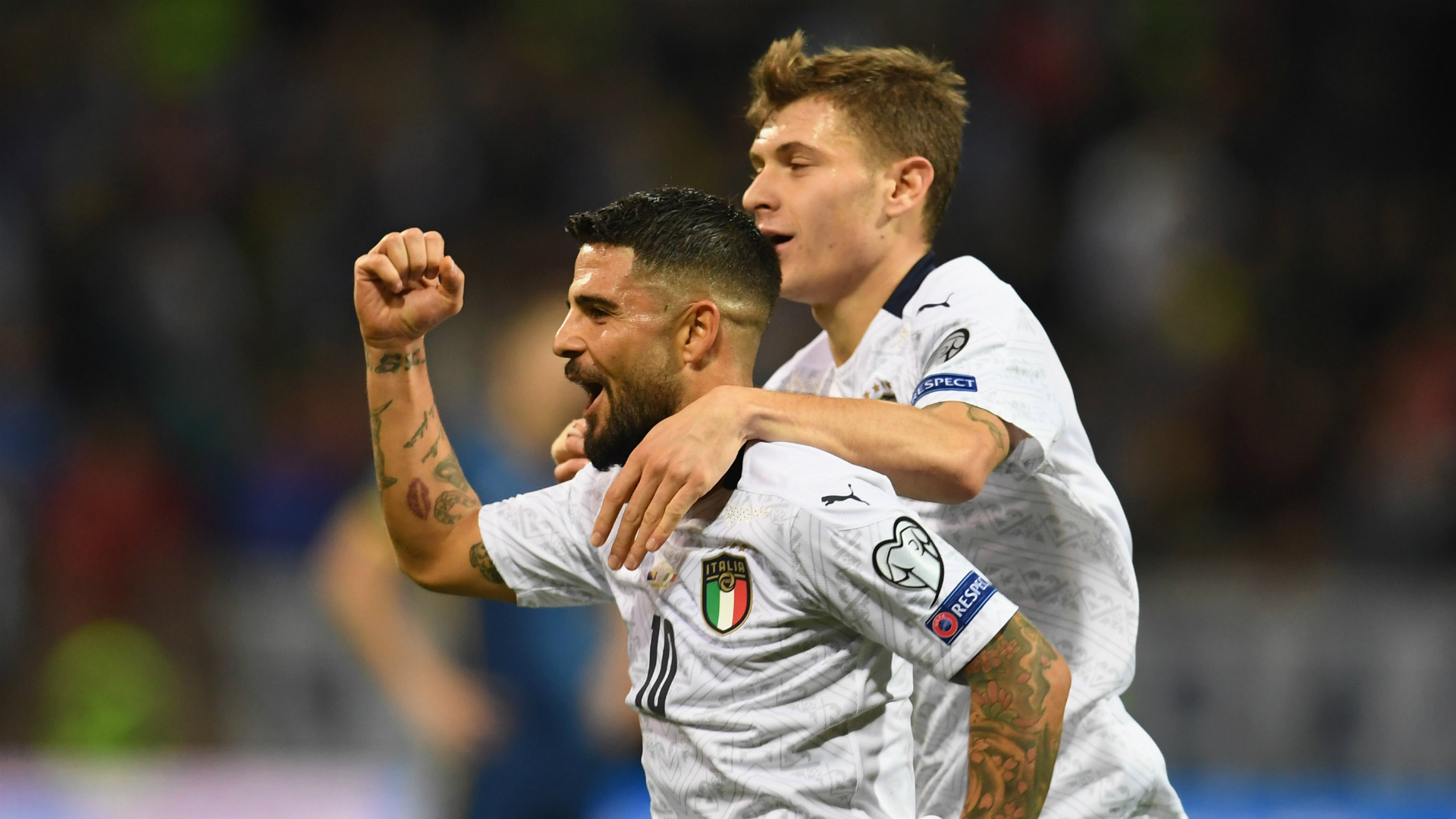 Bosnia-Herzegovina 0-3 Italy: Mancini's men coast to record-breaking 10th straight win