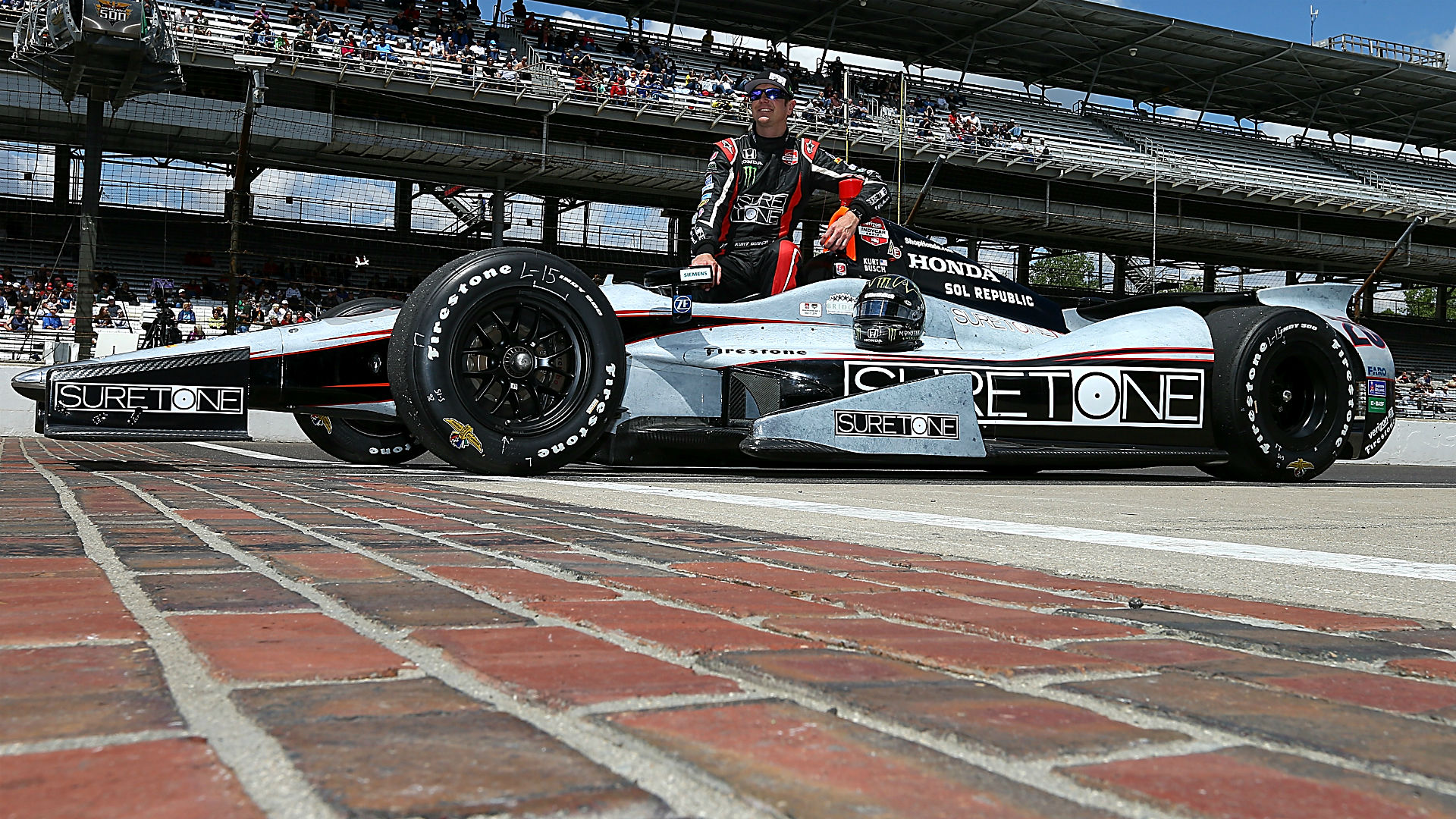 Kurt Busch raced in the Indy 500 in 2014