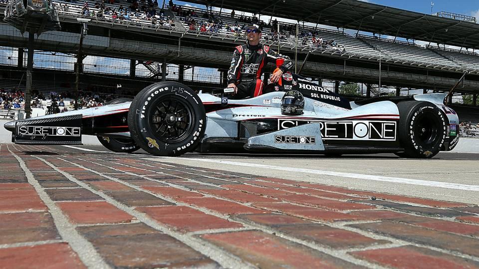 Kurt Busch raced in the Indy 500 in 2014