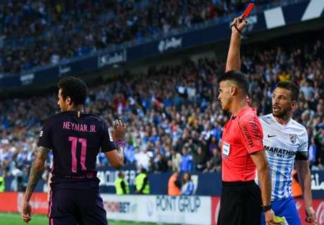 Luis Enrique questions Neymar red