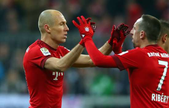 Robben and Ribery miss Bayern training