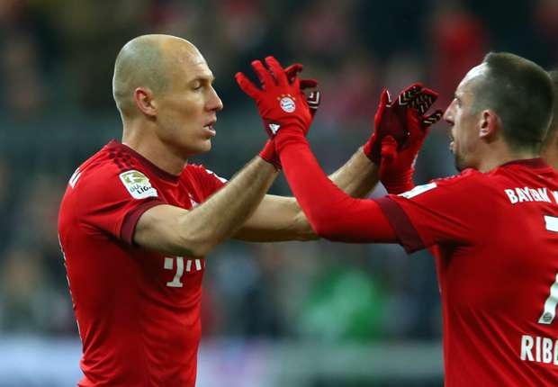 Ribery: Bayern must hold on to Robben