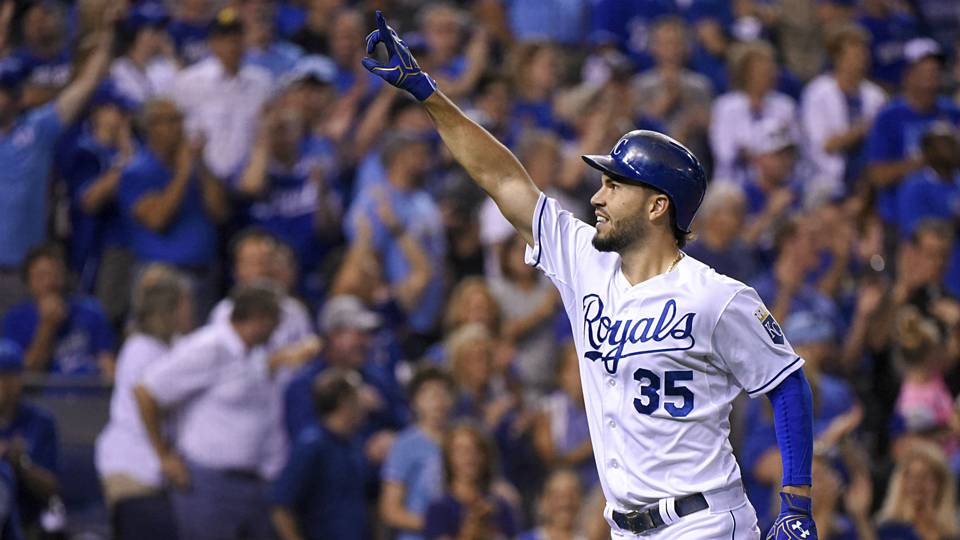 Eric Hosmer Getty Images