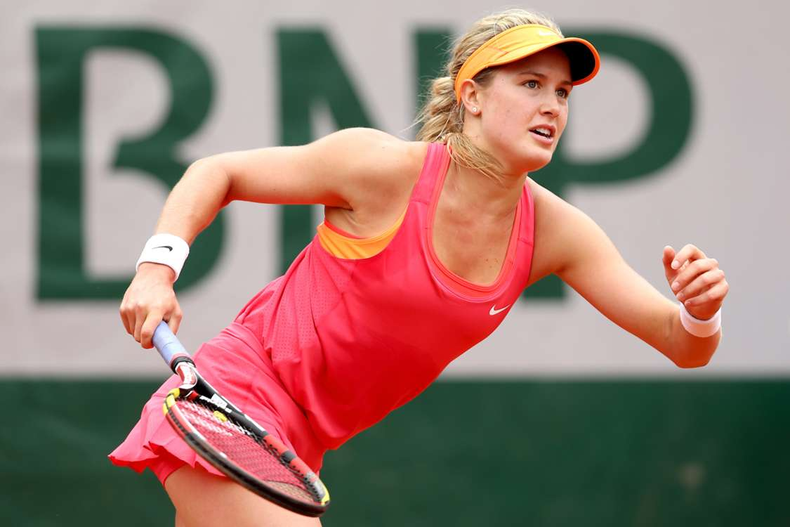 Bouchard holds her nerve to overcome Suarez Navarro