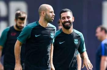 Still no Mascherano or Arda for Barcelona