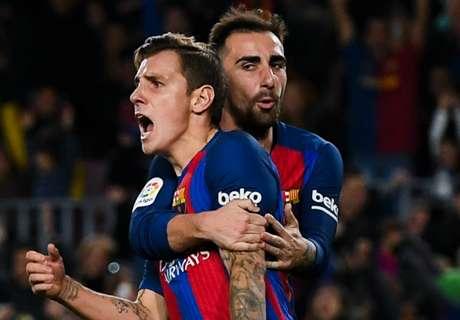 Alcacer hails 'special' Barca goal