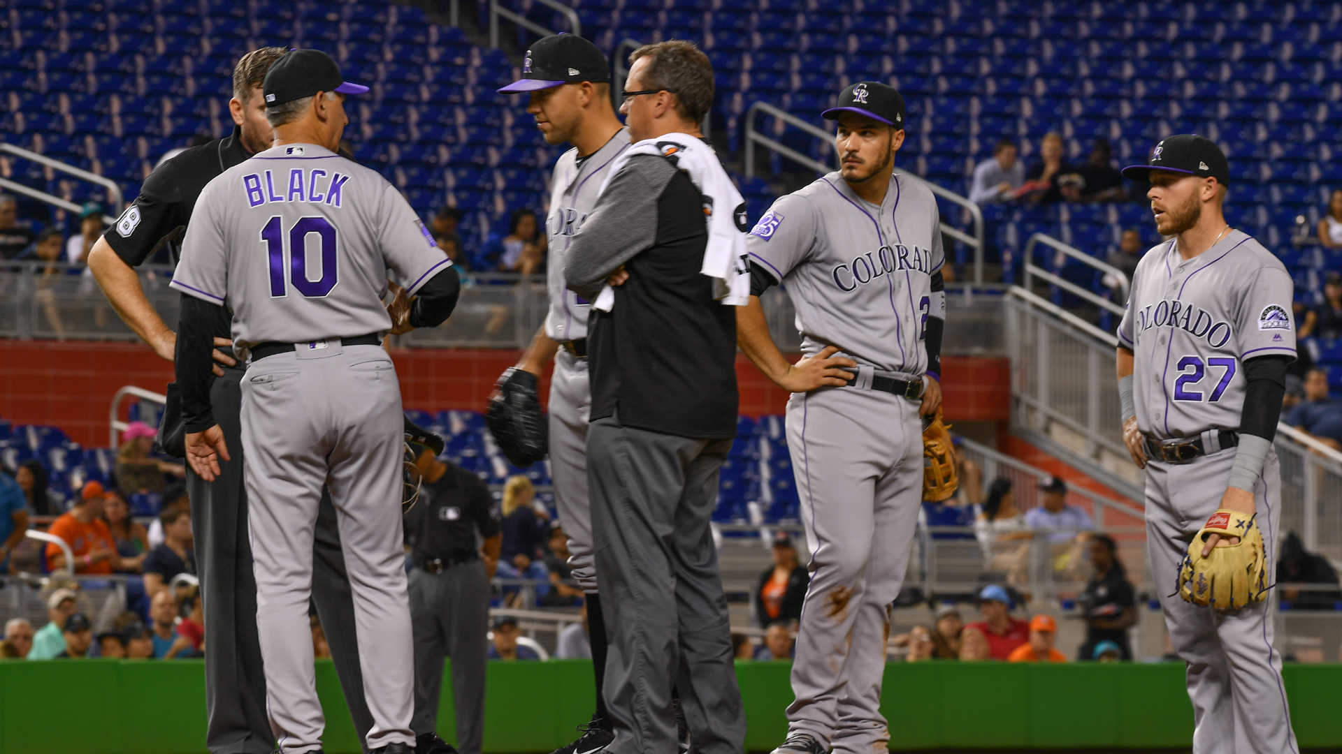 Marlins Beat Rockies 3-0 As Smith Records First Career Win