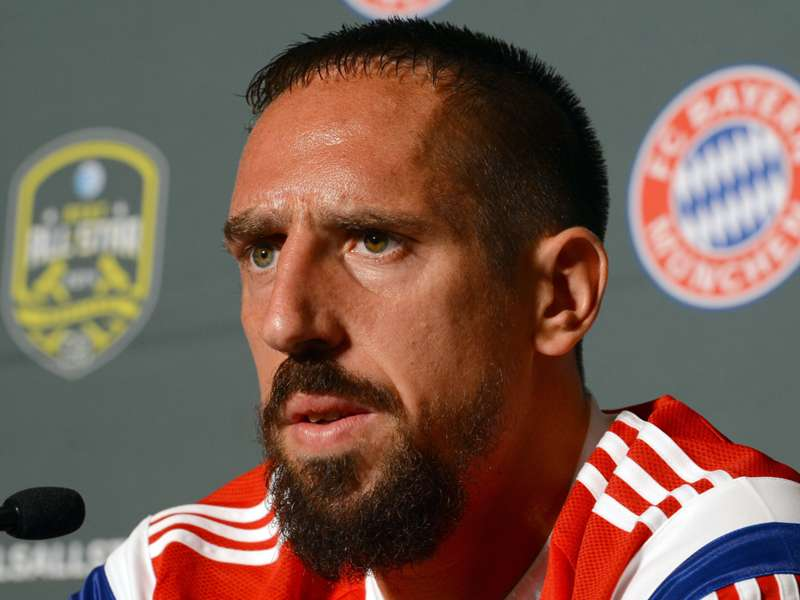 Guardiola happy with Ribery fitness