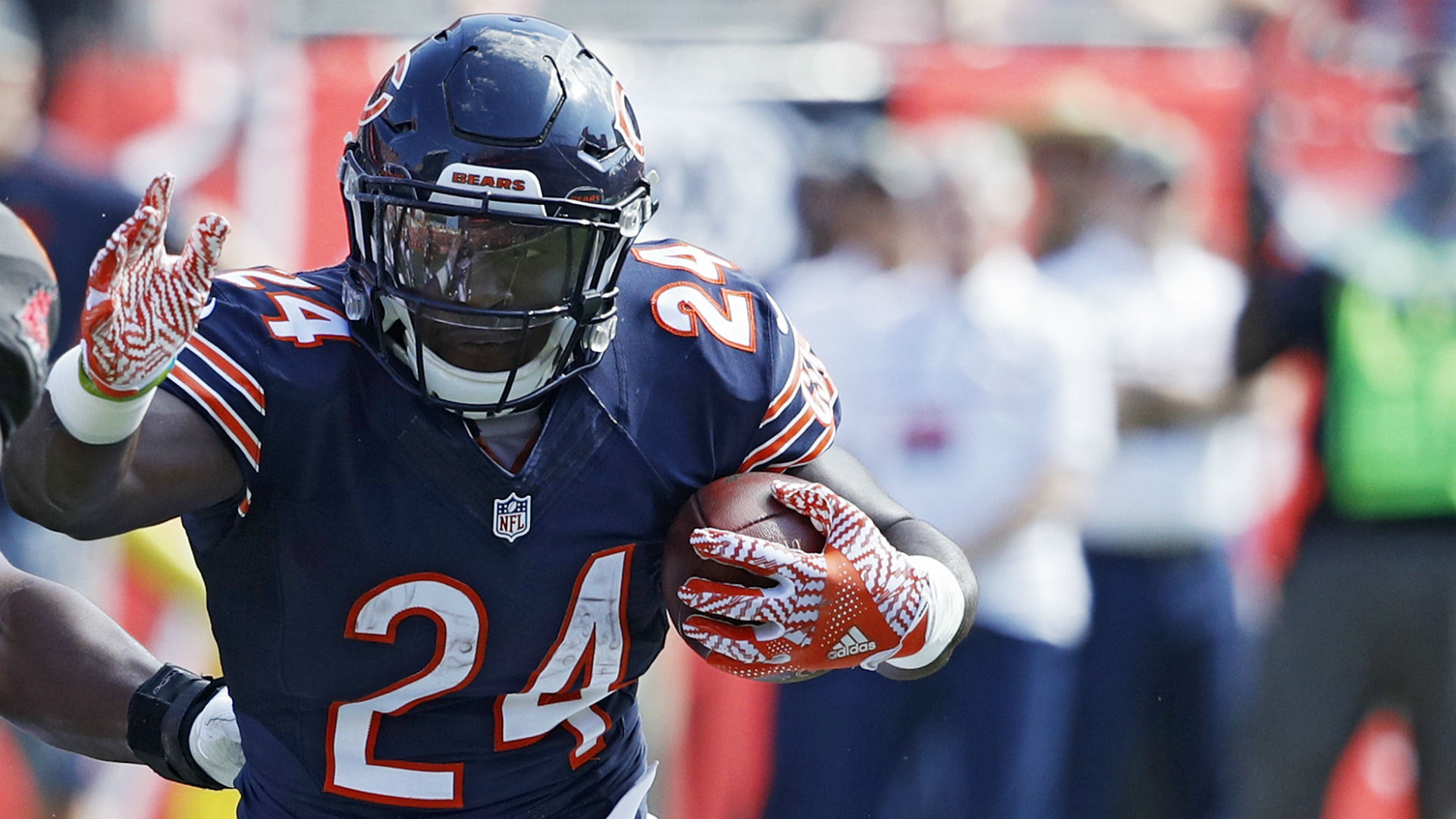 Jordan Howard says there s no QB controversy in Chicago