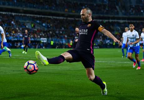 Iniesta: Referee not to blame for loss