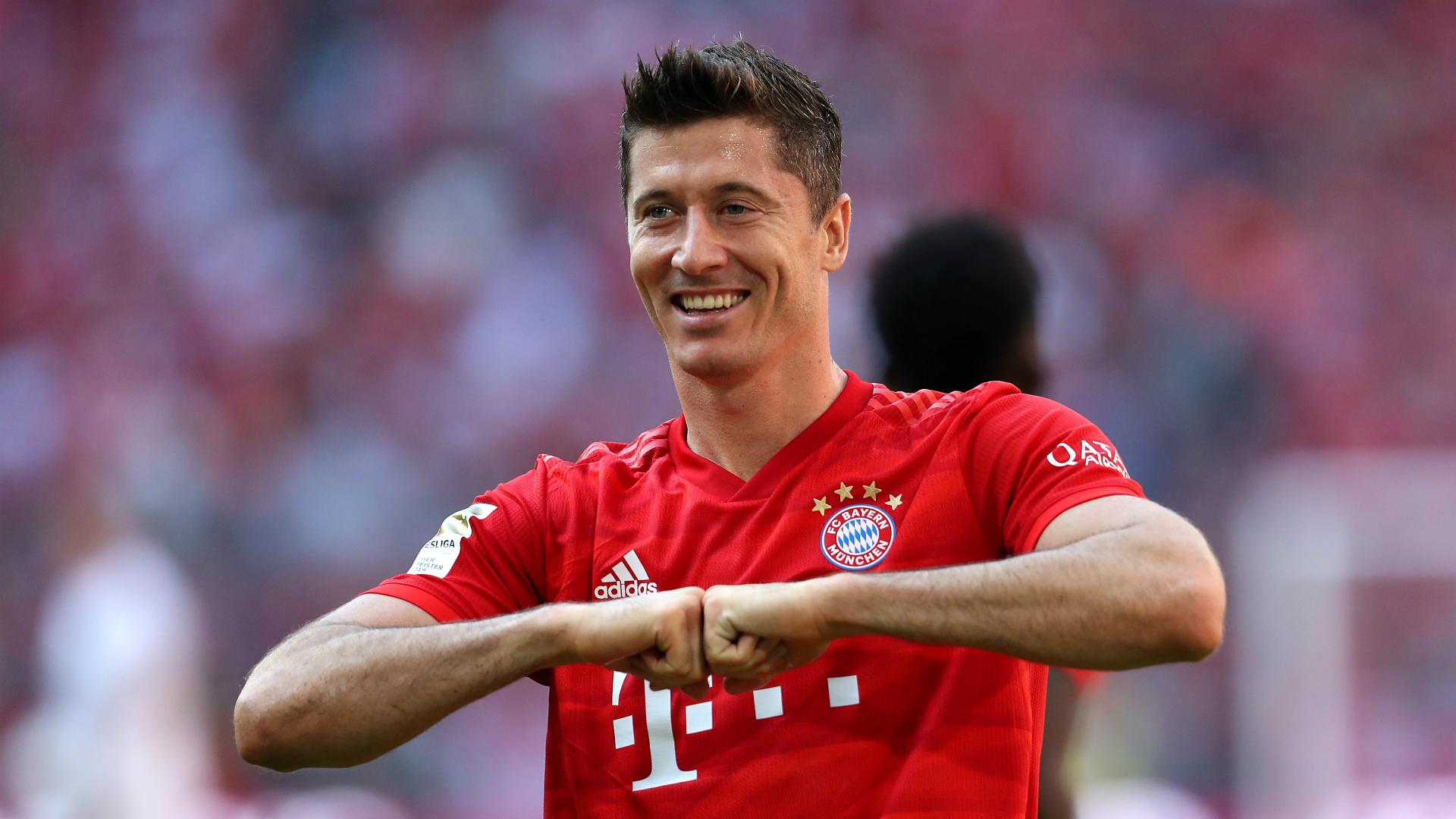 Lewandowski dreams of Bayern farewell to match Robben and Ribery