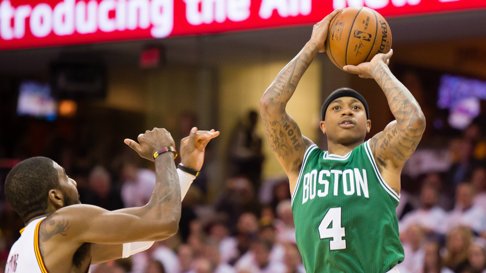 Celtics' Isaiah Thomas on Sixth Man of the Year snub: 'Numbers don't lie'