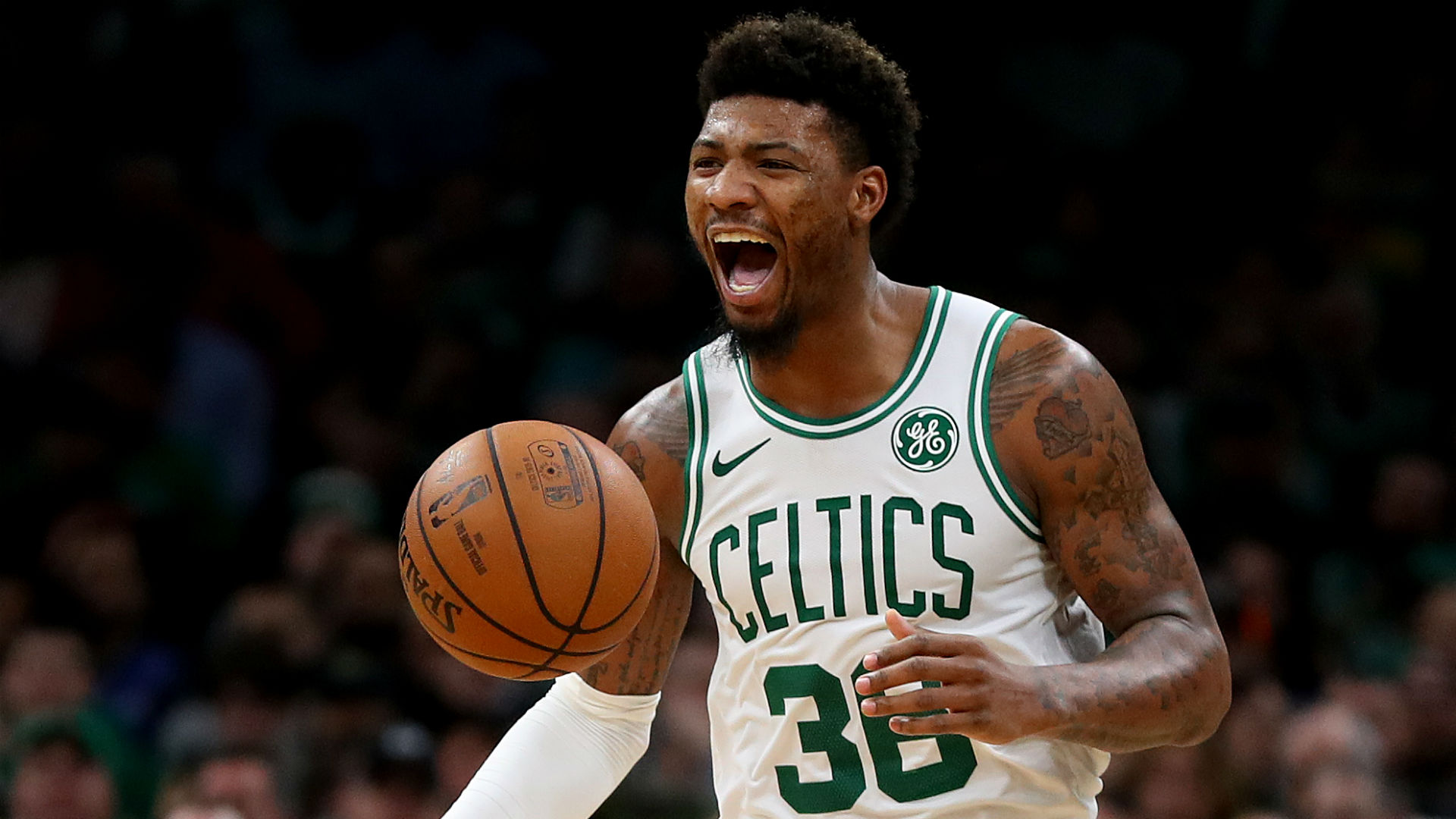 Marcus Smart Out 4-6 Weeks With Partially Torn Oblique Muscle