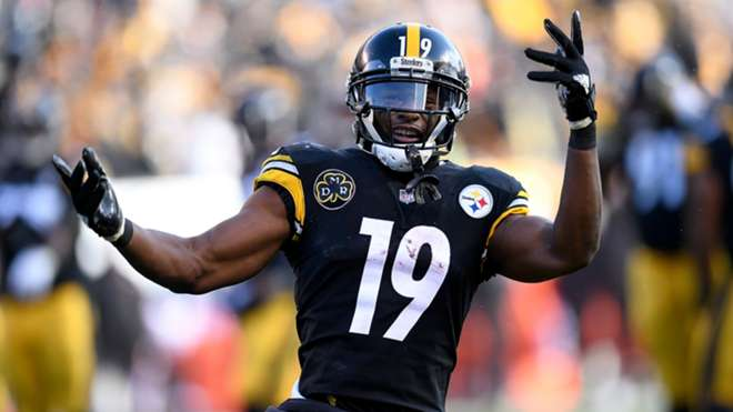 Steelers WR JuJu Smith-Schuster leaves Pro Bowl with knee injury f665f1051