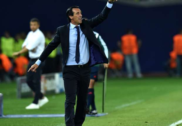 Image result for Unai Emery and Neymar