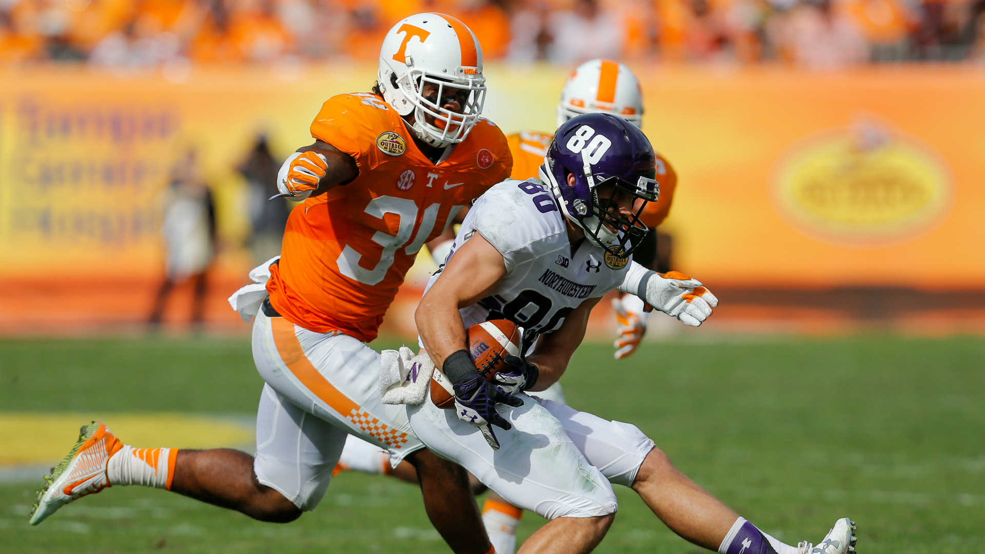 Tennessee MLB Darrin Kirkland ruled out for season with knee injury