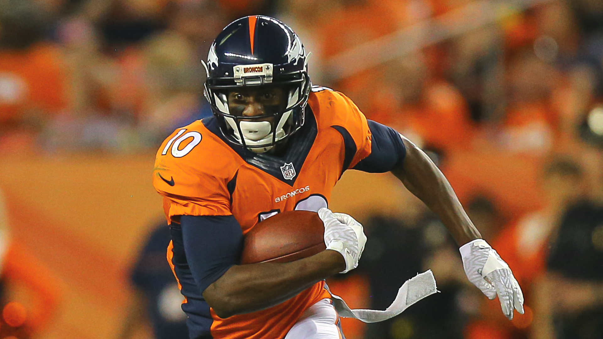 Broncos Emmanuel Sanders says he would benefit from adding Tony