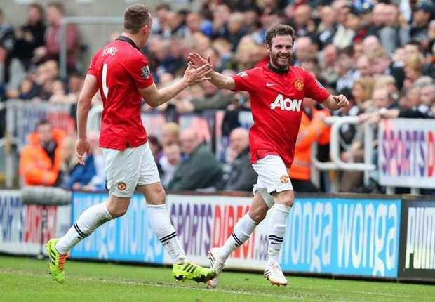 "Newcastle 0-4 Manchester United: Juan ""Mata"" a las Urracas en St. James Park"