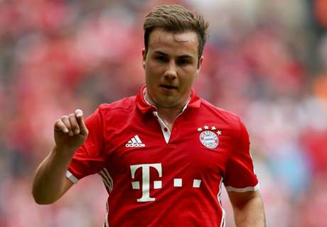Gotze looking forward with Bayern