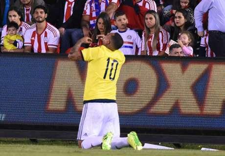 Cardona downs Paraguay
