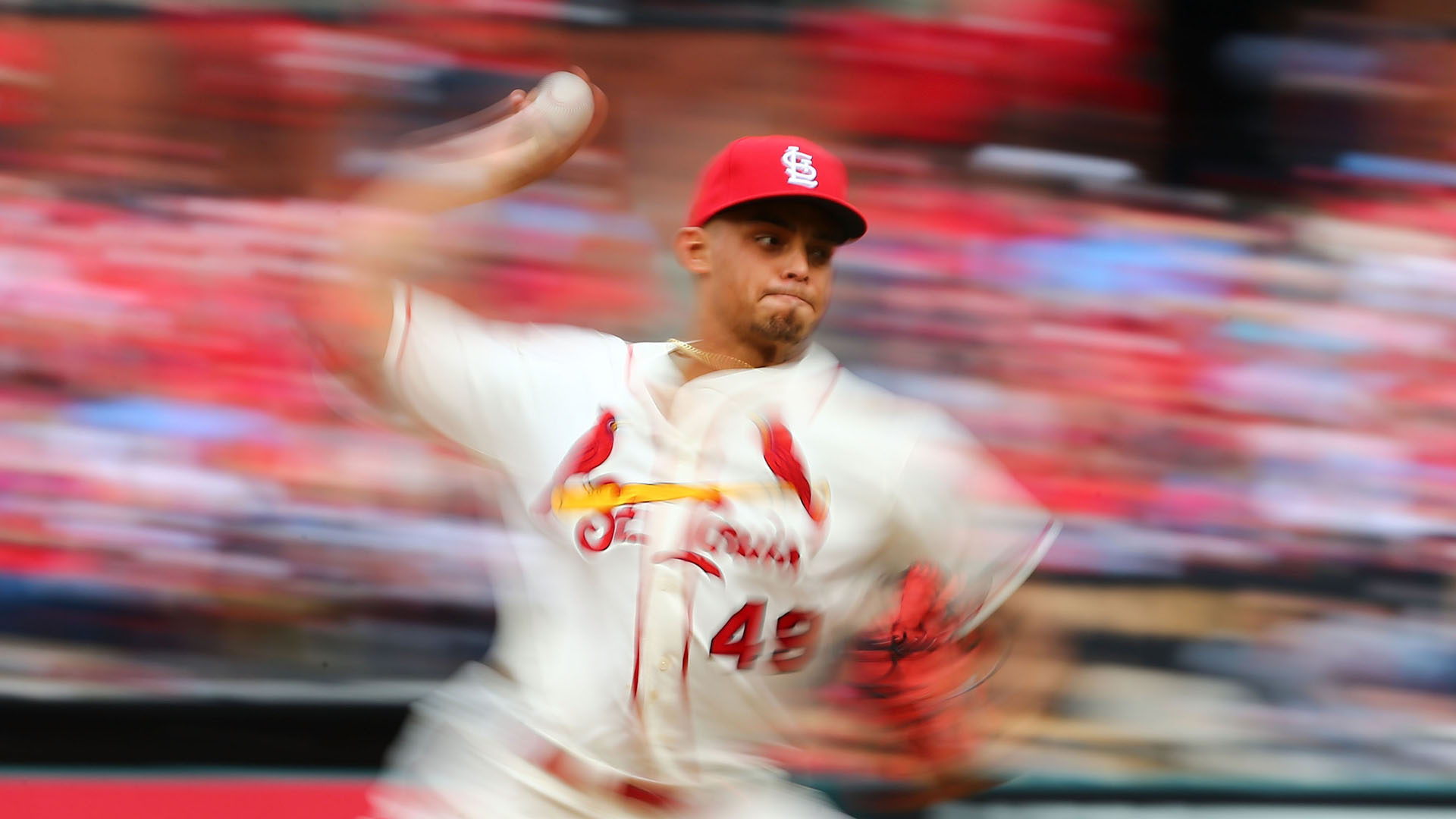 Cardinals' Jordan Hicks hits 104-plus mph 3 times Sunday