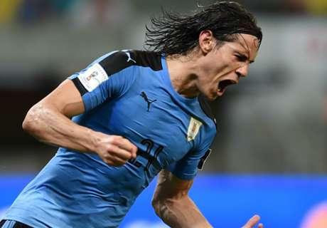 REPORT: Cavani hits for Uruguay