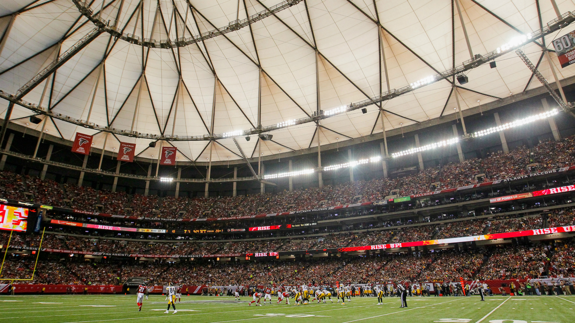 Report: Falcons to lose draft pick for piping in crowd noise
