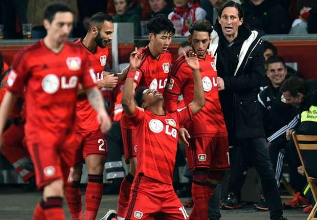 Bayer Leverkusen 4-0 Stuttgart: Hosts celebrate Schmidt's birthday in style