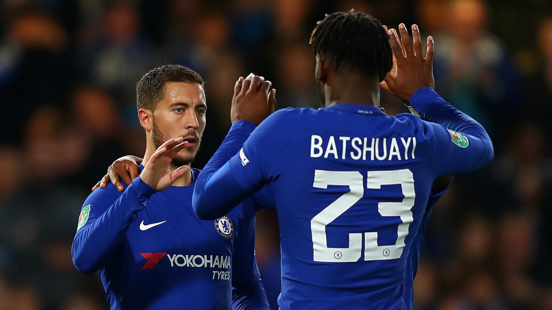 Conte praises Chelsea youngsters after cup win