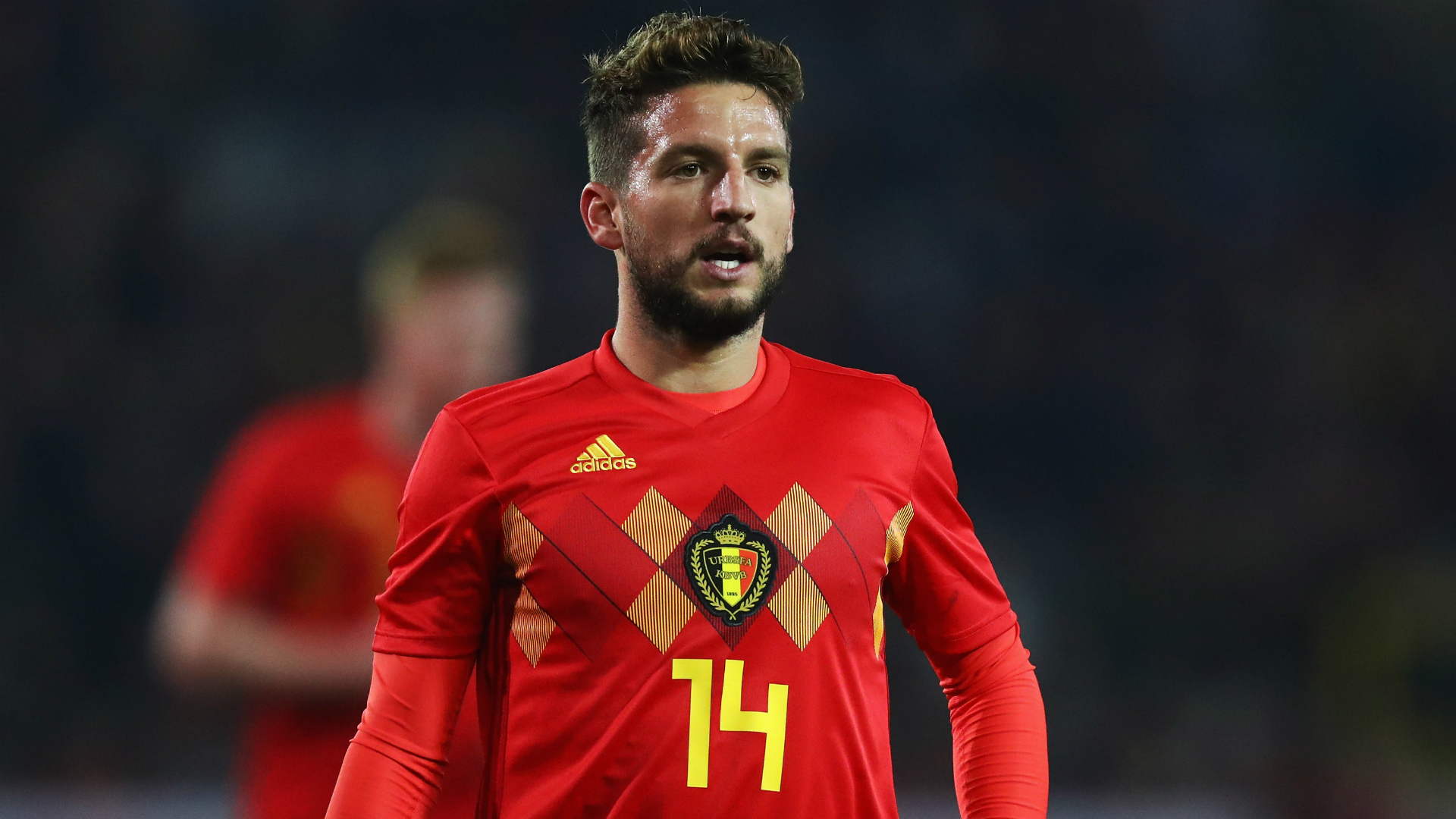 Belgium's Dries Mertens scores off incredible volley and Twitter loses it