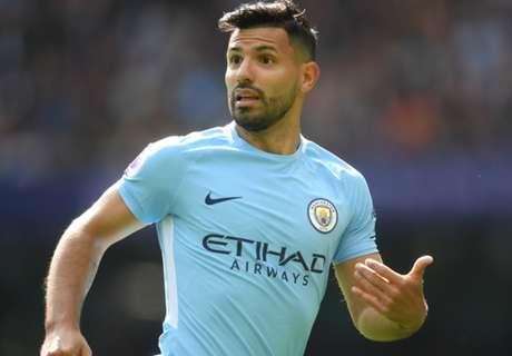 Aguero Samai Rekor Gol Manchester City