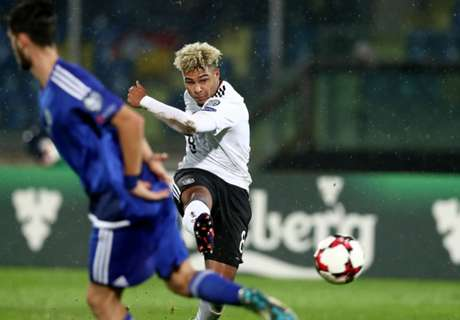Gnabry breaks 40-year Germany record