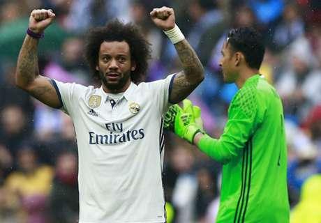 Zidane: Marcelo, Carvajal in top 4