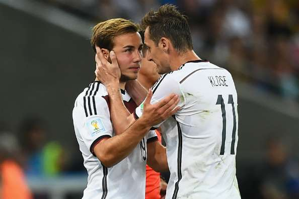 Klose: I told Gotze he could make the difference
