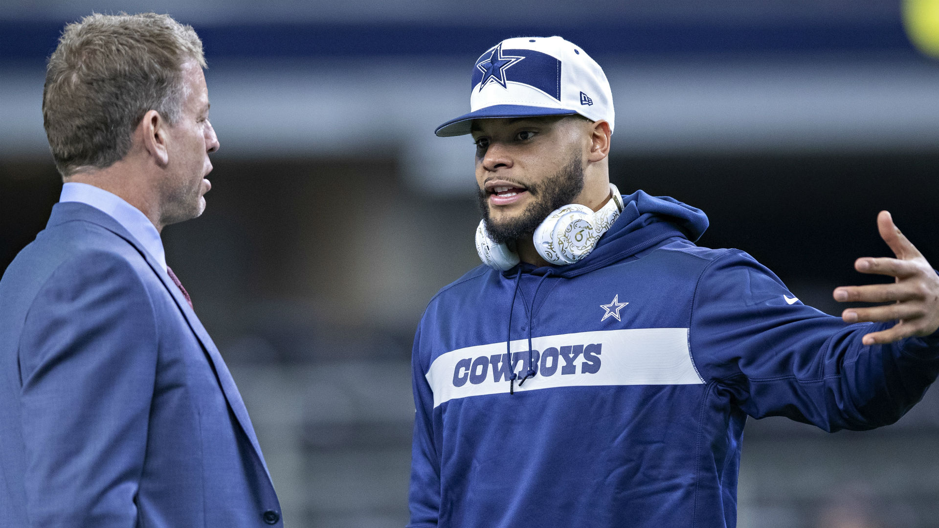 Troy Aikman praises Cowboys QB Dak Prescott: 'He's everything you'd want him to be'