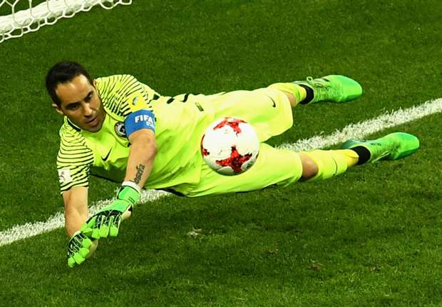 Chile goalkeeper Claudio Bravo.