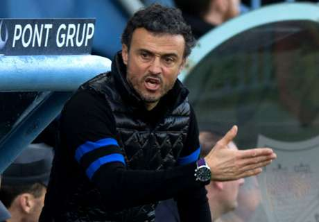 Luis Enrique blasts poor first half