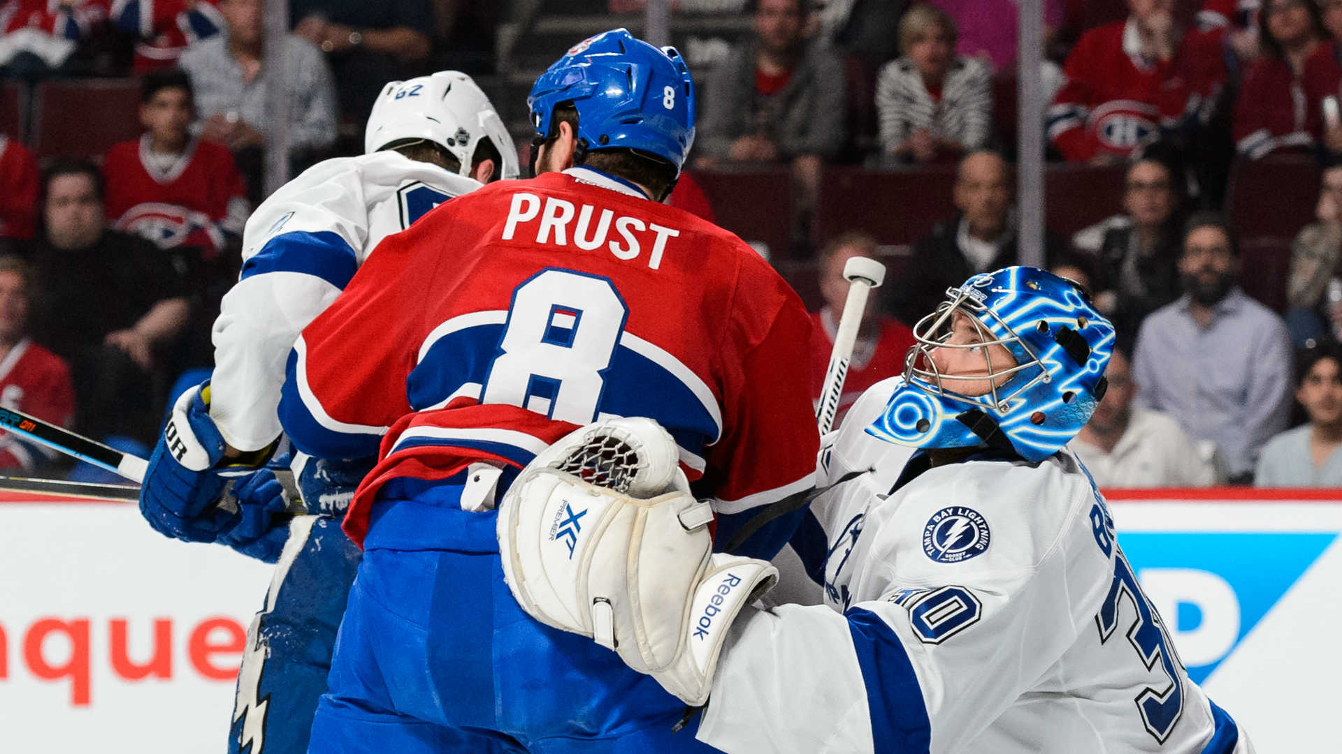 Canadiens forward Brandon Prust