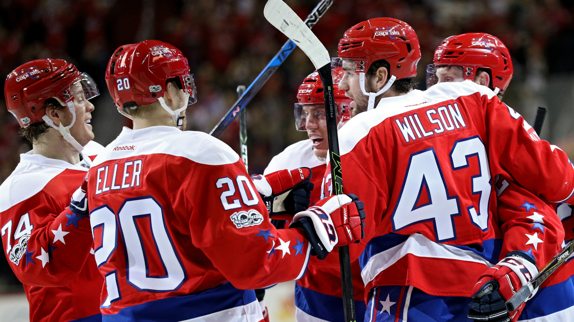 NHL: Capitals win ninth straight, Wild extend streak