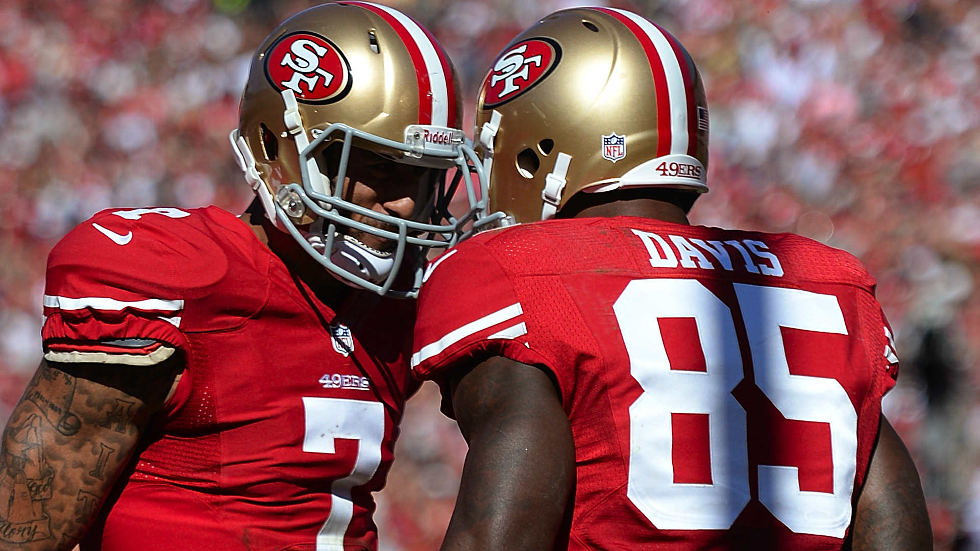 Report: Joe Staley and Vernon Davis involved in altercation about Colin Kaepernick