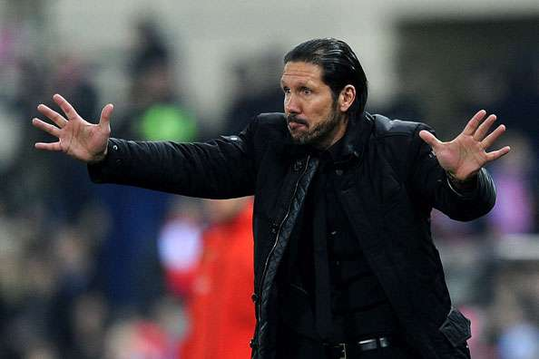 Simeone: Almeria loss not due to Madrid defeat