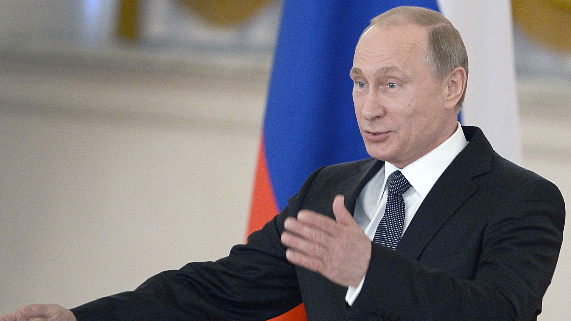 Vladimir Putin says U.S. is meddling in FIFA affairs