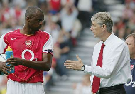 Vieira disappointed by Wenger snub