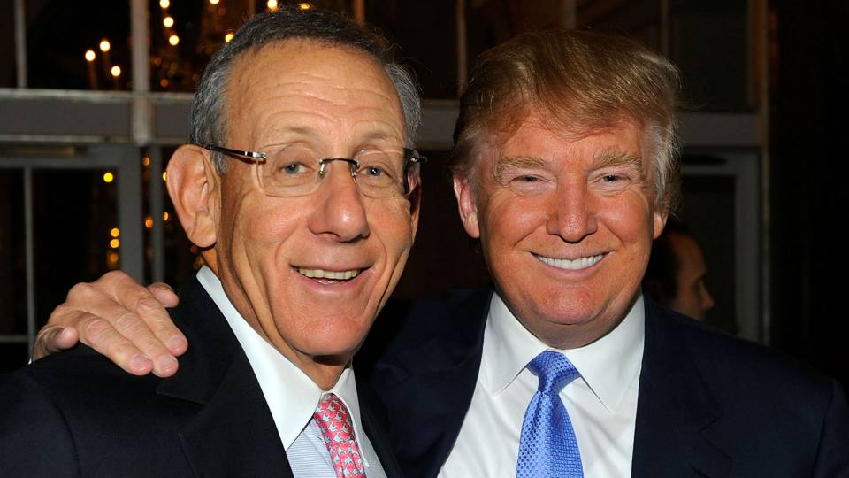 comment about trump landed dolphins owner stephen ross on colin