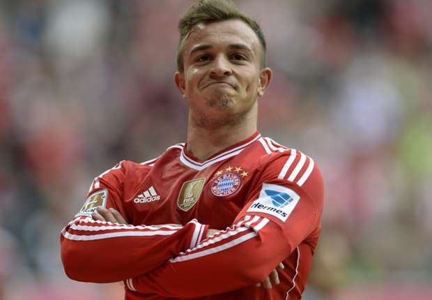Shaqiri ruled out of Arsenal clash